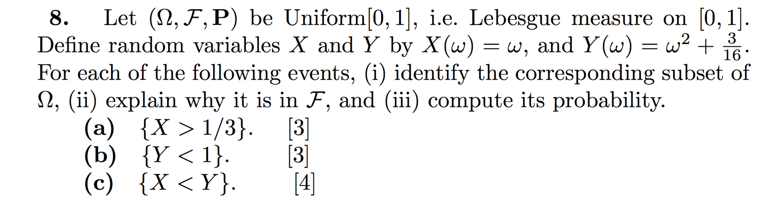 probability homework solutions