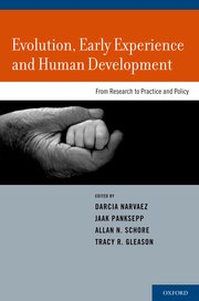Cover for Evolution, Early Experience and Human Development