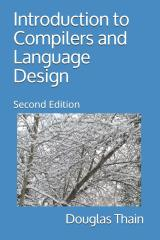 Picture of the cover of the book entitled Introduction to Compilers and Language Design