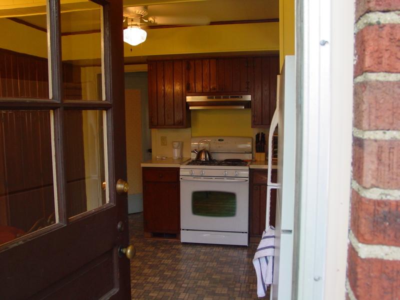 1218 Kitchen From Back Door
