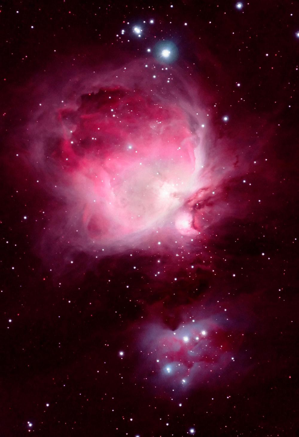 how big is orion nebula - photo #19