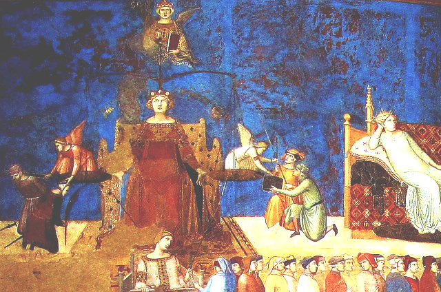 Lorenzetti's Allegory of Justice