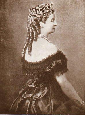 Eugenia de Montijo, emperatriz de Francia Cors012a1